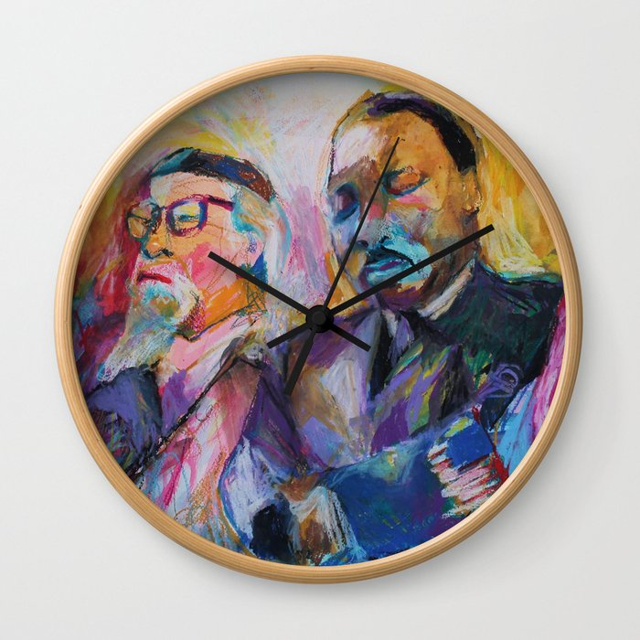 Heschel-King Wall Clock