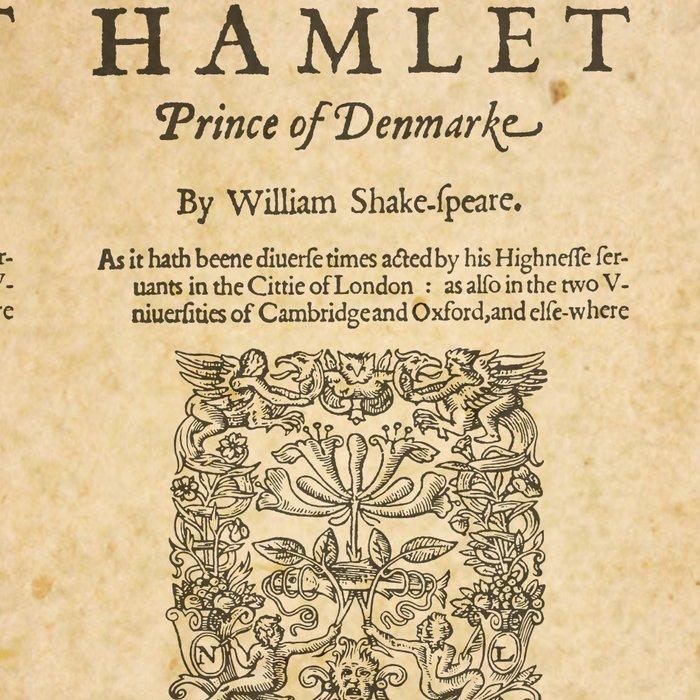 Shakespeare, Hamlet 1603 Leggings