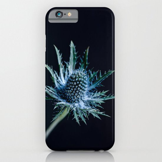 Blue Thistle iPhone & iPod Case