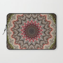 Trichome Crystal Portal Laptop Sleeve
