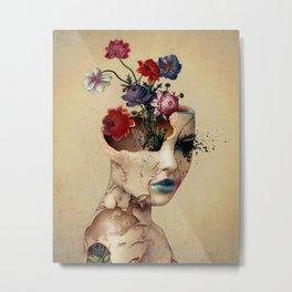 Broken Beauty Metal Print
