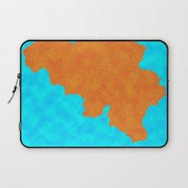 Belgium, Outline, Map Laptop Sleeve