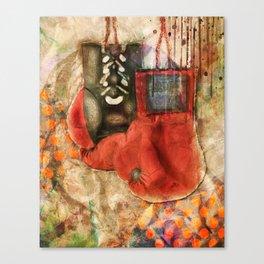 Boxing Modern Canvas Print