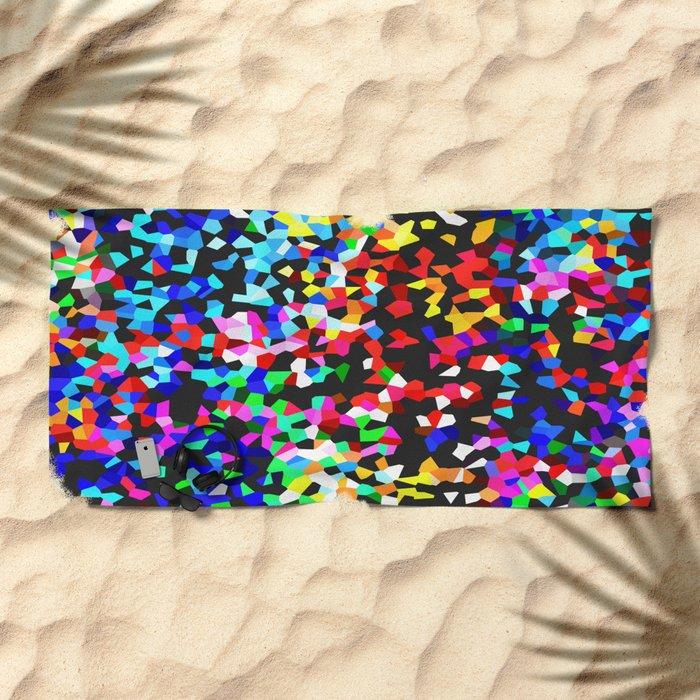 CRYSTALLISED Beach Towel
