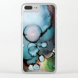 Citrine Moss Clear iPhone Case