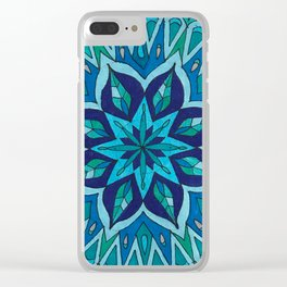 Mandala of Intuition Clear iPhone Case