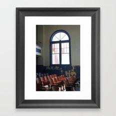 old schoolhouse Framed Art Print