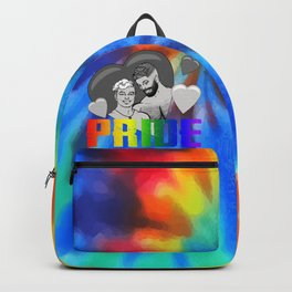 Male Pride Couple Backpack