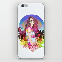 scorpio iPhone & iPod Skins featuring Scorpio by Sara Eshak