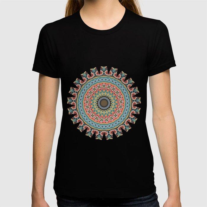 Boho Patchwork-Vintage colors T-shirt