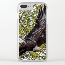 Fly By Clear iPhone Case