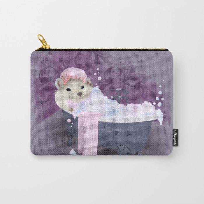 Bubble Bath Joy Carry-All Pouch