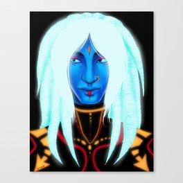 Blacklight Rave Canvas Print