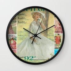 1957 Spring/Summer Catalog Cover Wall Clock