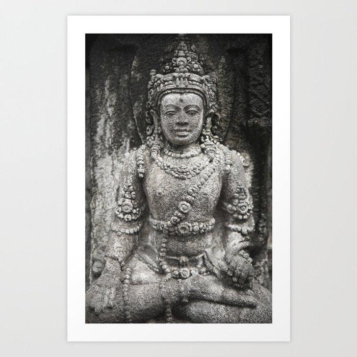 Prambanan Art Print