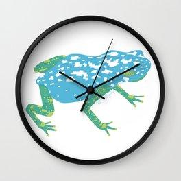 Robot Frog Wall Clock