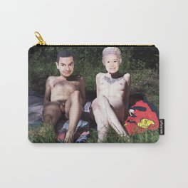 Mr. Bean & The Queen Carry-All Pouch