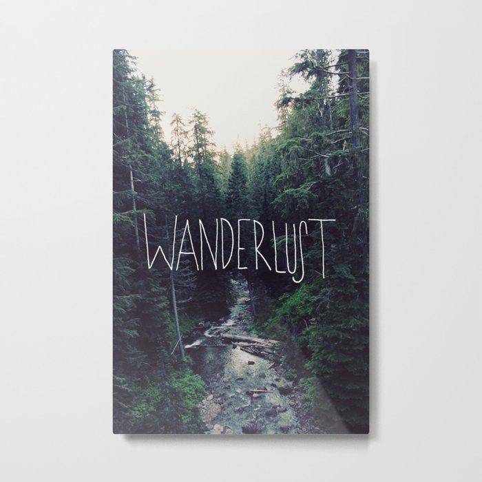 Wanderlust: Rainier Creek Metal Print