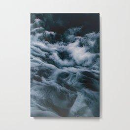 Misty Waves (Color) Metal Print