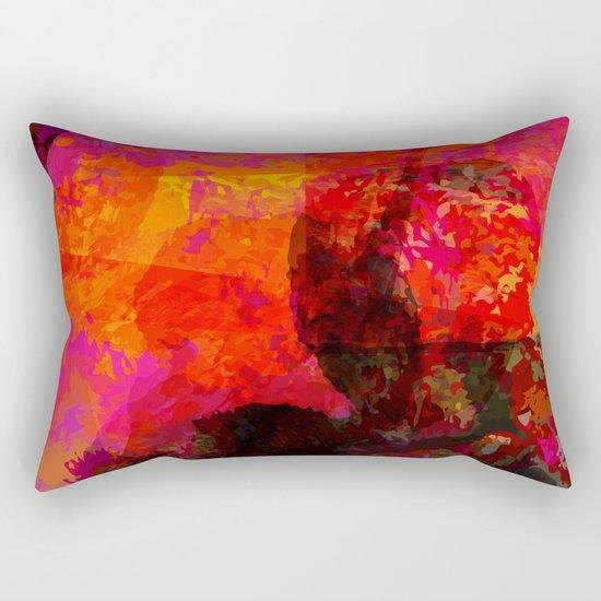 flames Rectangular Pillow