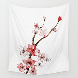 Cherry blossom 2 Wall Tapestry