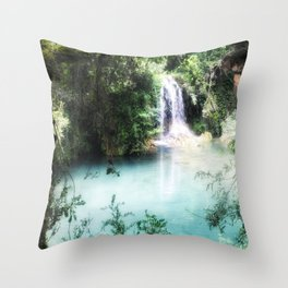 Paradise Awaits... Throw Pillow