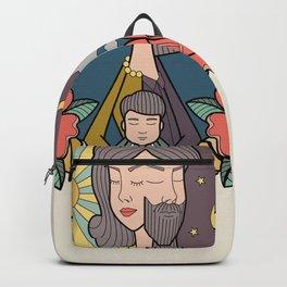 family portrait Backpack