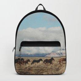 Running Reservation Horses Backpack