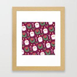 Cosy Christmas Framed Art Print