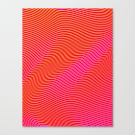 Fancy Curves Canvas Print