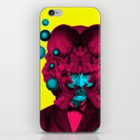 predator iPhone & iPod Skins featuring PREDATOR by DIVIDUS