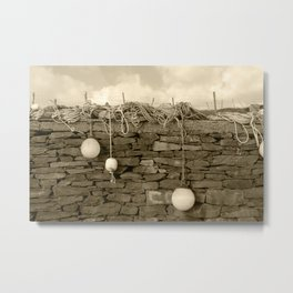 Marker Bouys Donegal Tint Metal Print