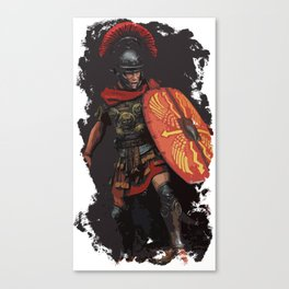 Roman Empire - Legionary Power Canvas Print
