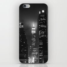 Empire State Building at Night iPhone & iPod Skin