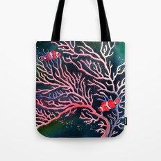 Clownfish and Coral Tote Bag