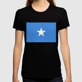 Flag of Somalia - Authentic High Quality image T-shirt