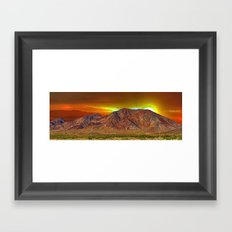 Black Mountain, Henderson, NV, USA Framed Art Print