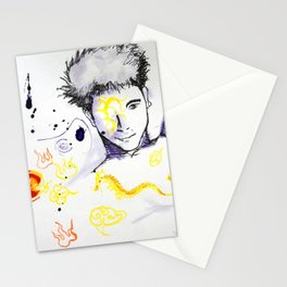 Flying Tattoo  Stationery Cards