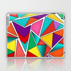 A colorful, abstract pattern polygons . Laptop & iPad Skin