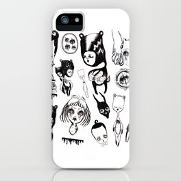 Attic Beings iPhone Case
