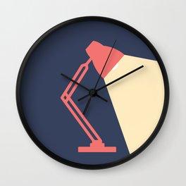 #14 Lamp Wall Clock