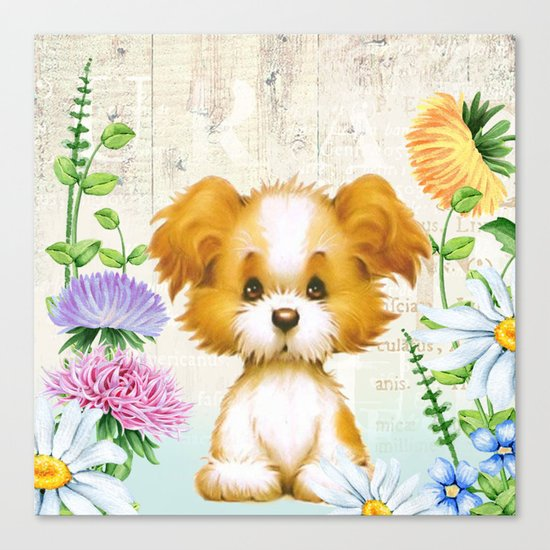 Sweet animal #3 Canvas Print