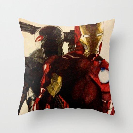 Iron Man 3 Throw Pillow