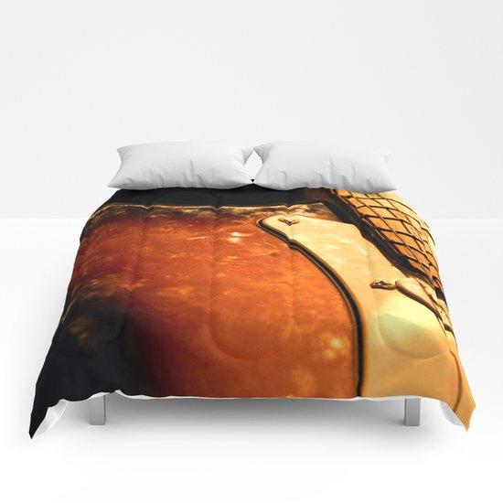 eletric guitar Comforters