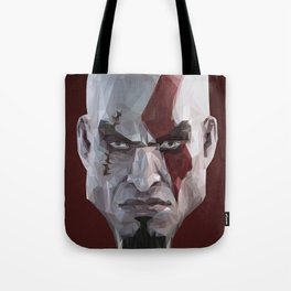 Triangles Video Games Heroes - Kratos Tote Bag