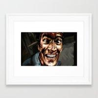 evil dead Framed Art Prints featuring evil dead  by Kim_dv