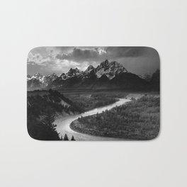 Ansel Adams The Tetons and the Snake River Bath Mat
