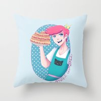 gumball Throw Pillows featuring Gumball by Alice