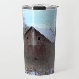 Old Weathered Barn Travel Mug