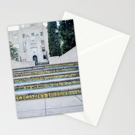 Steps of Gods (yellow) Stationery Cards